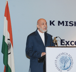 Karzai unviels his vision of South Asia