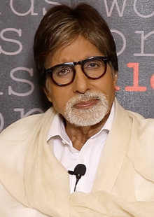 Most visible celebrity face -Amitabh_Bachchan