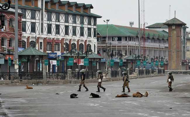 violence hit srinagar streets